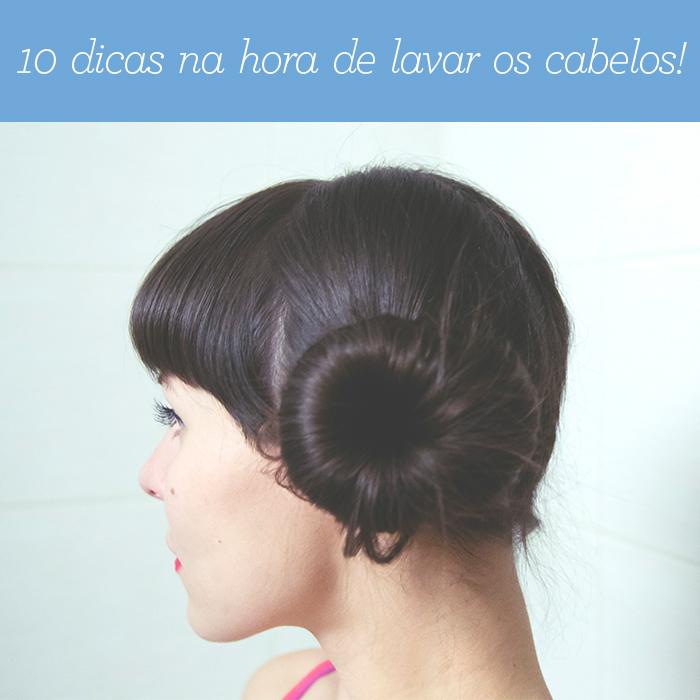 10 erros na hora de lavar os cabelos