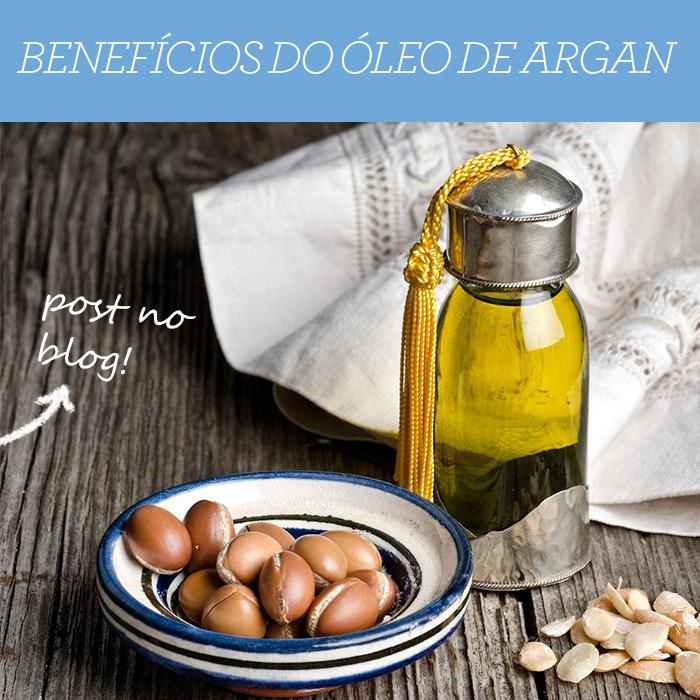 Os benefícios do Óleo de Argan