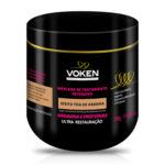 Voken Efeito Teia Máscara Arginina e Proteínas